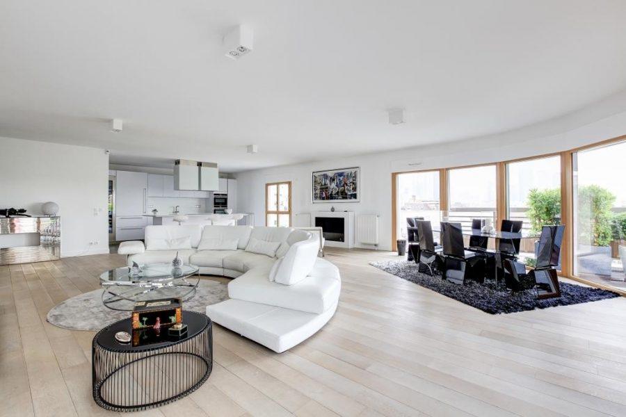PENTHOUSE COURBEVOIE-LA DEFENSE 200m² + 200m² de Terrasse
